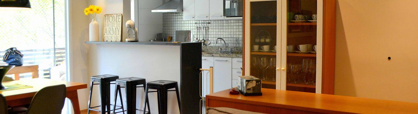 Moderno apartamento em excelente condomínio.